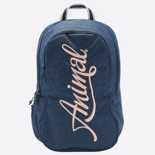 ANIMAL WOMENS BACKPACK.NEW BRIGHT NAVY BLUE RUCKSACK SCHOOL UNI BAG.20L 9S 1/X24